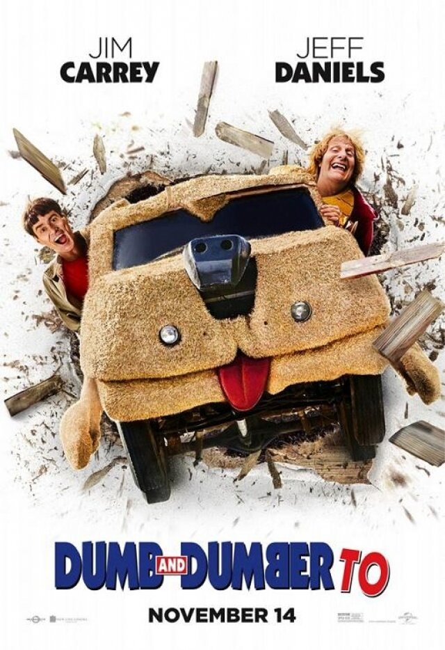 �� ������ ��-������: ����������� 2014 - Dumb and Dumber To 2014
